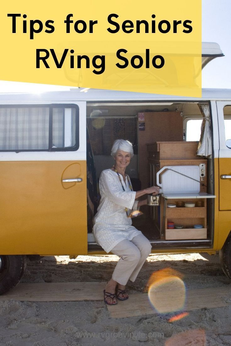 Seniors RVing Solo- A Guide for Seniors