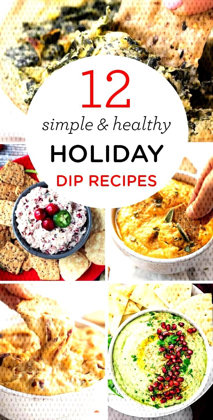12 Simple & Healthy Holiday Dip Recipes - Simply Quinoa -  HEALTHY HOLIDAY DIPS — simple, delicio