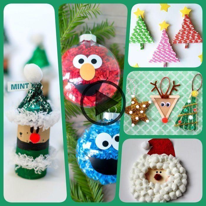 ▷ 1001 + suggestions de bricolage de Noël maternelle créatif - Activite Manuelle Noel Primaire -