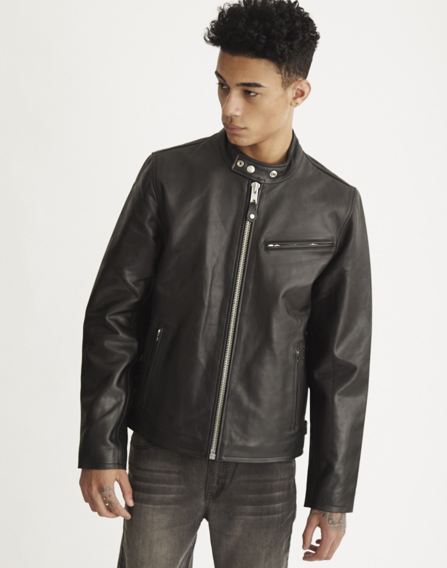 Schott NYC Racer Jacket | Shop men's clothing at The Idle Man