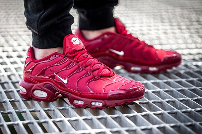 hot new products how to buy cute cheap Nike tns plus ultra red and white tuned 1 | Nike air max ...