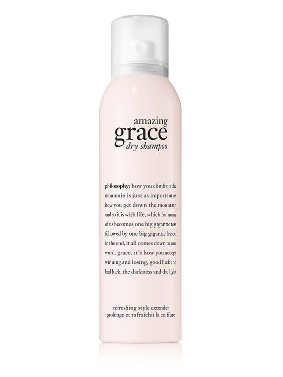 My Favorite Perfume Is Now A Dry Shampoo And I Couldn T Be Happier Dry Shampoo Philosophy Amazing Grace Amazing Grace