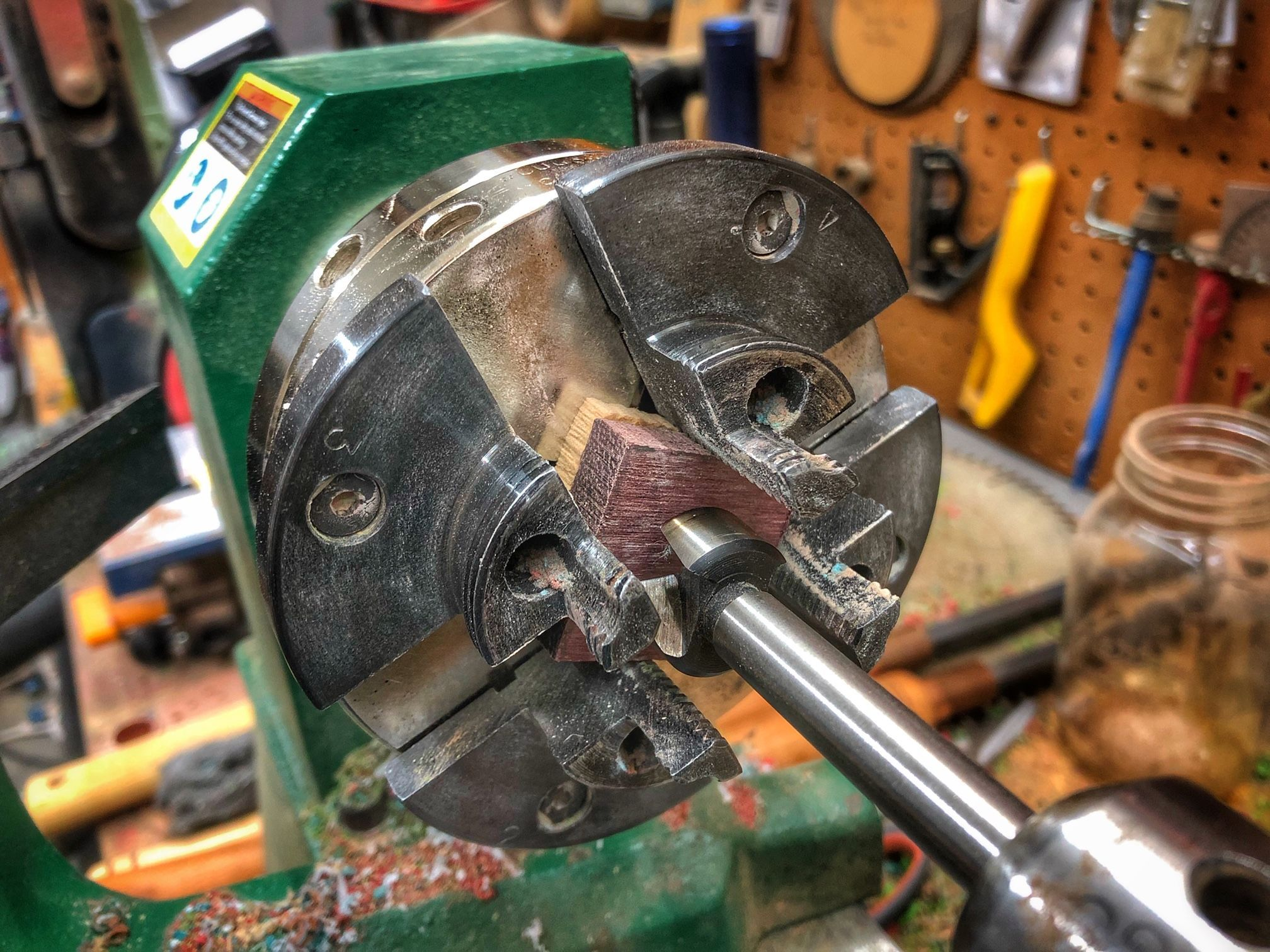 how to make a wooden ring on a lathe