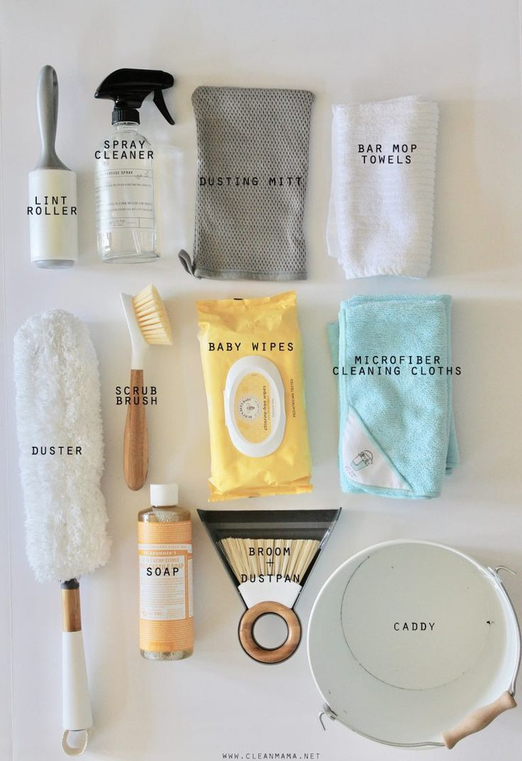 Put Together a Cleaning Caddy for Kids