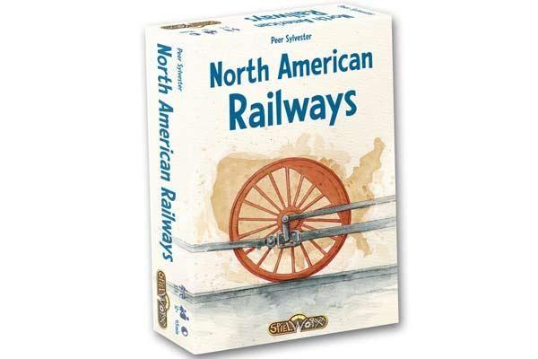 Spielschachtel North American Railways - Foto von Spielworxx