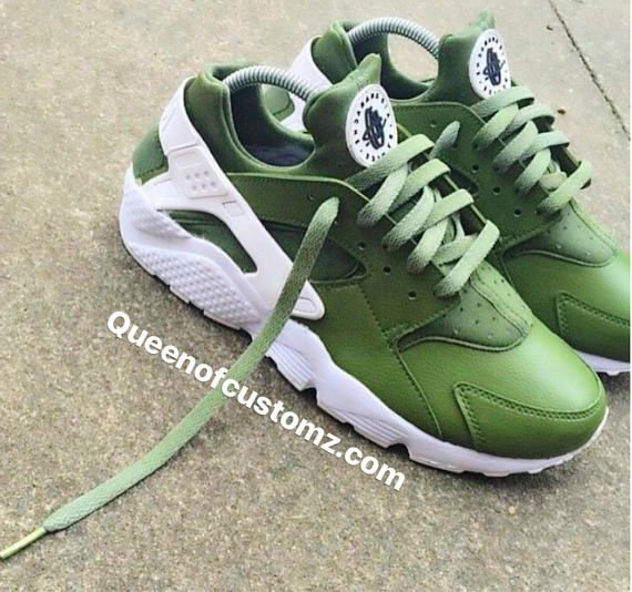 Avocado Nike Huarache Custom Unisex  445bef2d6