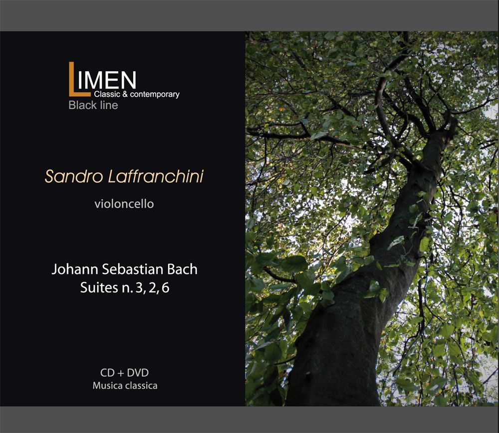 "CD+DVD Limen music ""Johann Sebastian Bach - Suites 2,3,6"" Sandro Laffranchini, cello iTunes: https://itunes.apple.com/us/album/johann-sebastian-bach-suites/id982834346 Amazon: https://www.amazon.it/dp/B00URW2HXY"