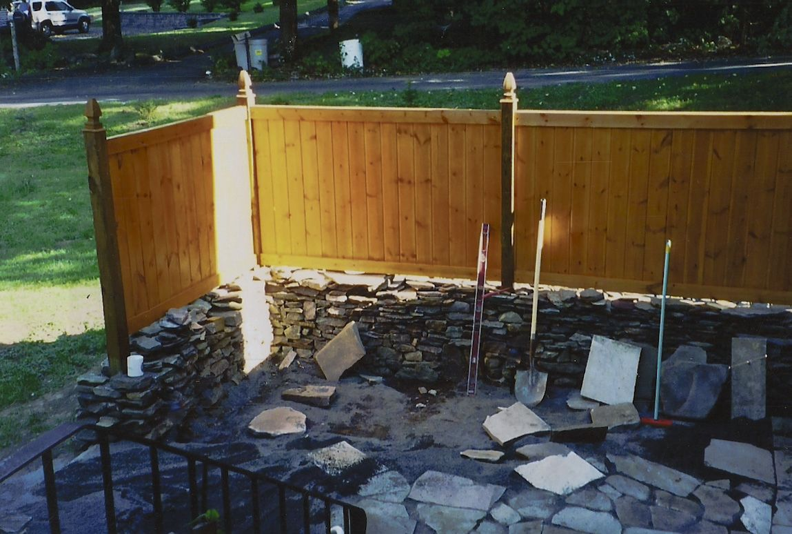 Privacy Wall Patio Submited Images.