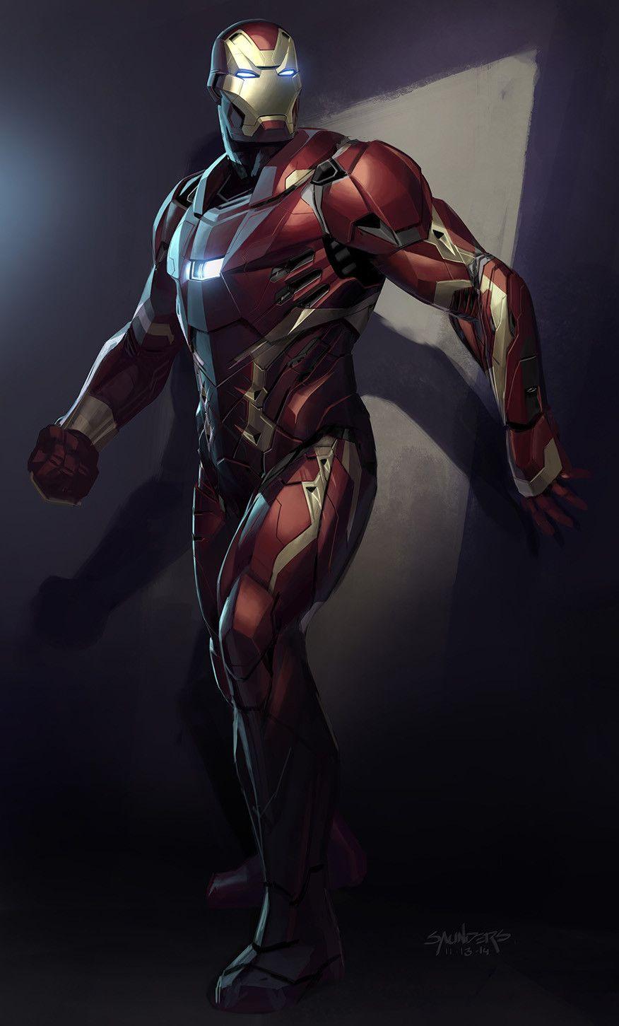 Artstation Iron Man Mk46 Phil Saunders Iron Man Armor Iron Man Avengers Iron Man