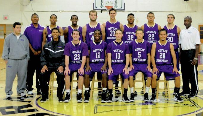 Wnmu Men S Basketball Team 2011 Mens Basketball Basketball Teams Western New Mexico University
