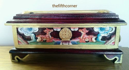 Tibetan buddhist wood #incense burner om mani mantra #hand-carved nepal #fairtrad,  View more on the LINK: http://www.zeppy.io/product/gb/2/121886657684/