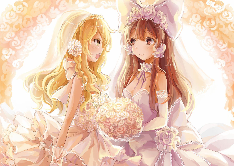 I Like Reimus Wedding Bow Touhou Themed Weddings Ideas