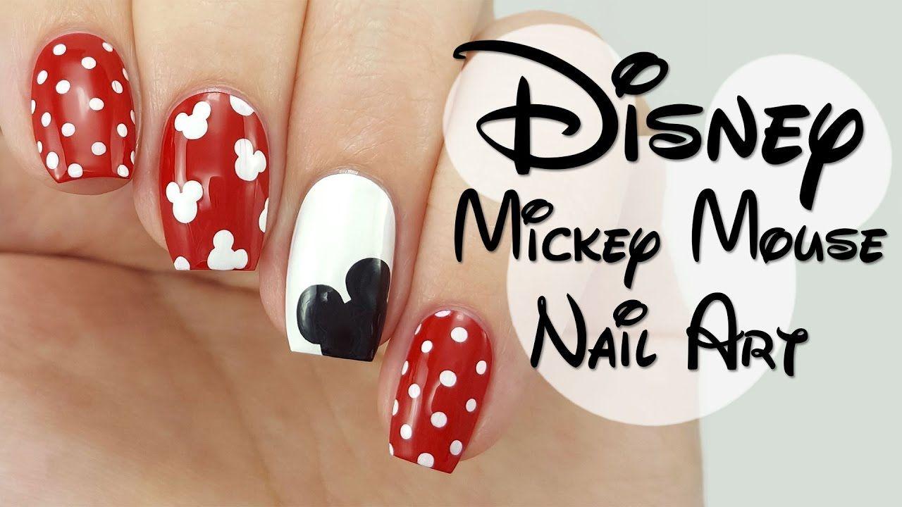 Disney Mickey Mouse Nail Art Mickey nails, Mickey mouse