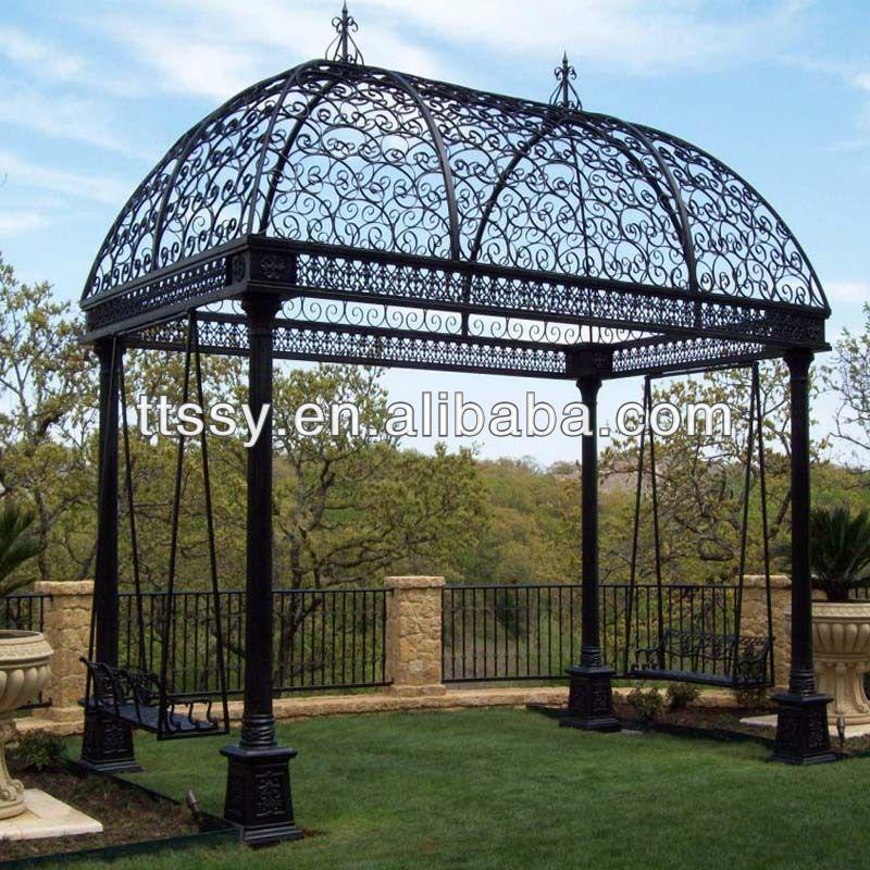 garden wrought iron gazebos - Garden Wrought Iron Gazebos Humble Abode Pinterest Wrought