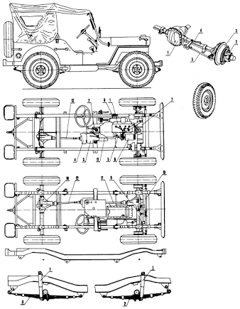 Resultado De Imagem Para Willys Jeep Plans
