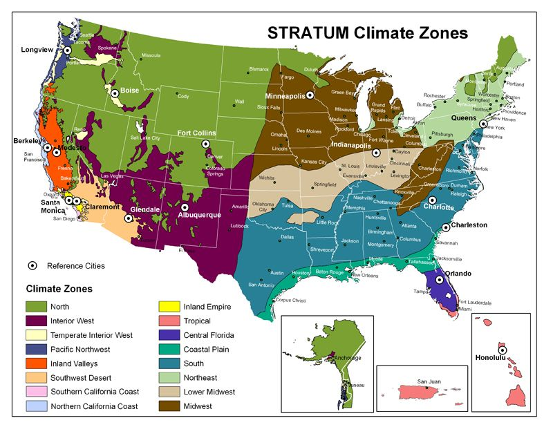 Climate Map Of The United States For Kids | maps | Pinterest | Map ...