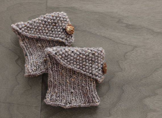 Knit Boot Cuff Pattern Instant Download Knit Pattern by hopnflop