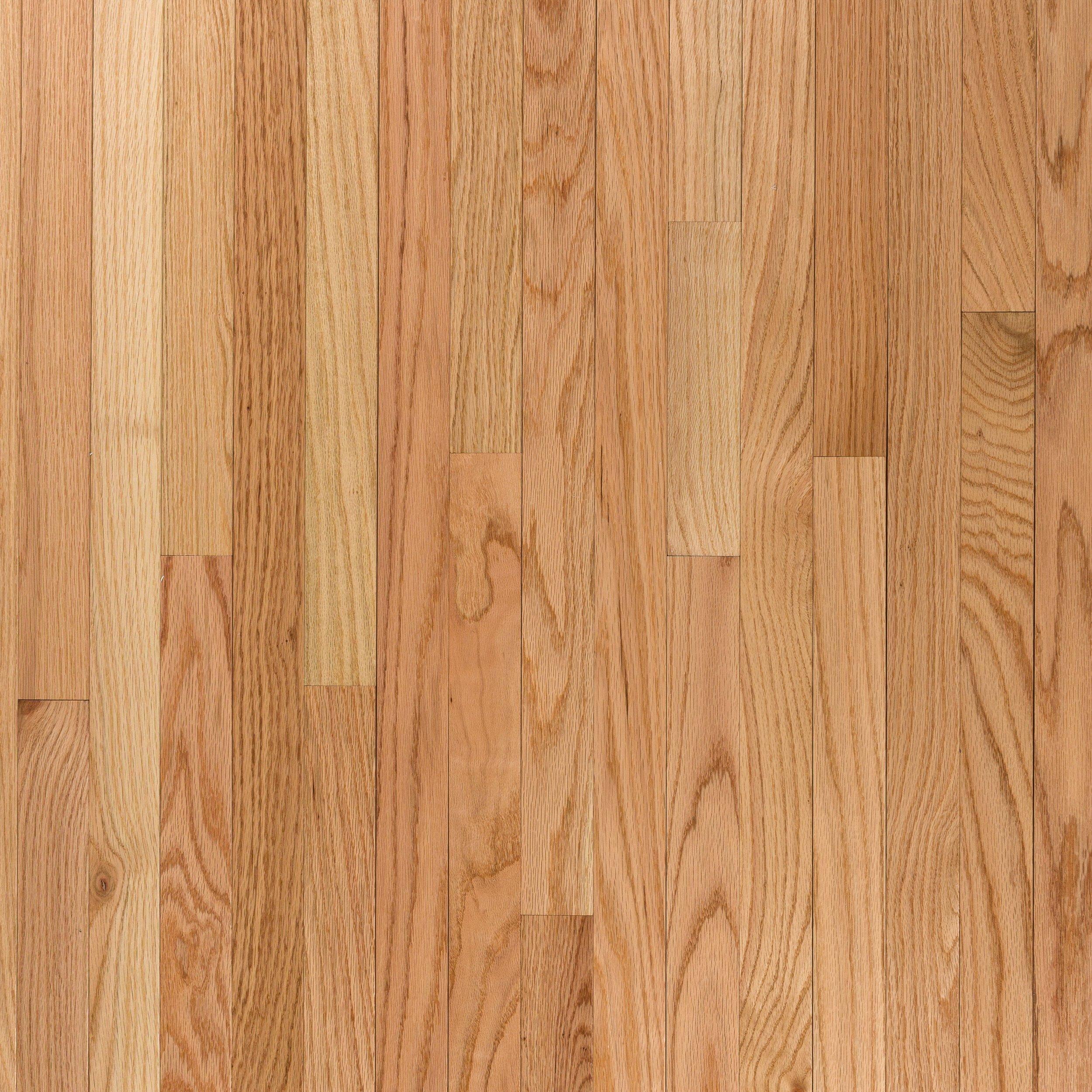 Natural Select Oak High Gloss Solid Hardwood In 2020 Hardwood