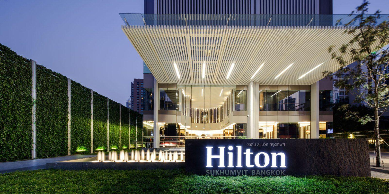 Hotel Entrance Landscape Design