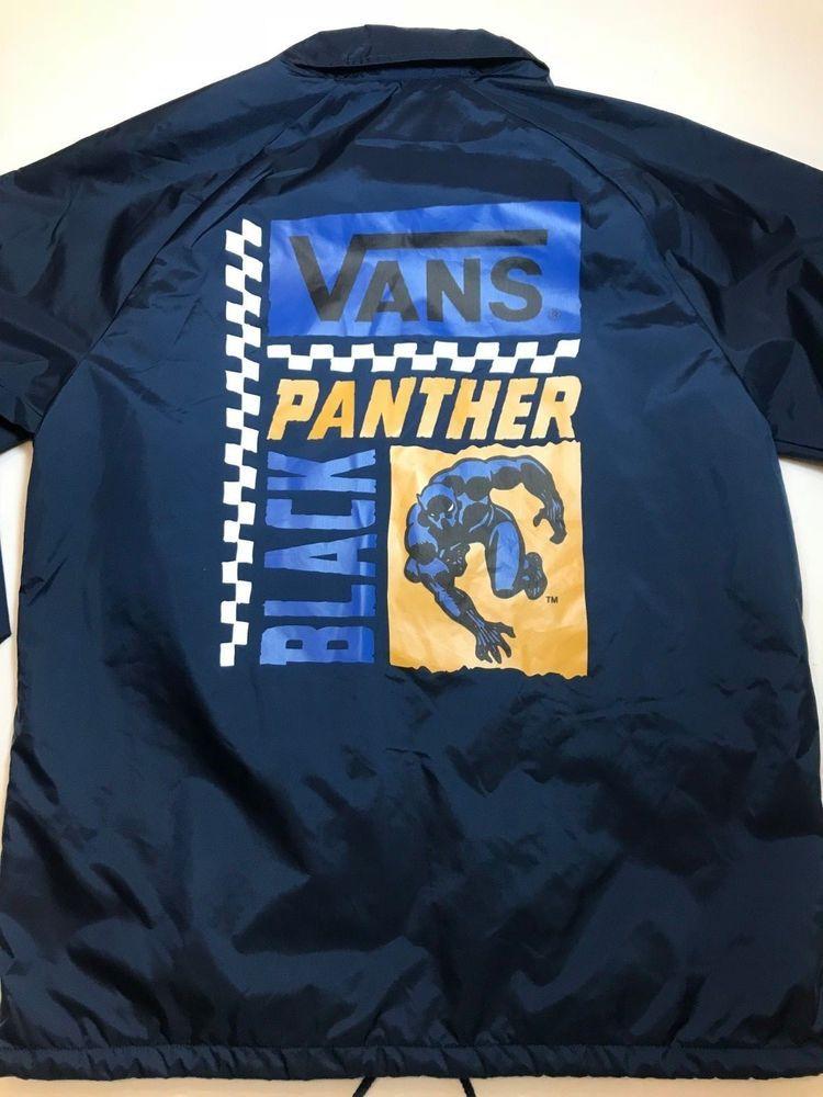 5da2e3566d3 NEW Vans Marvel Black Panther Torrey Collared Jacket Men s Size Medium   fashion  clothing  shoes  accessories  mensclothing  coatsjackets (ebay  link)