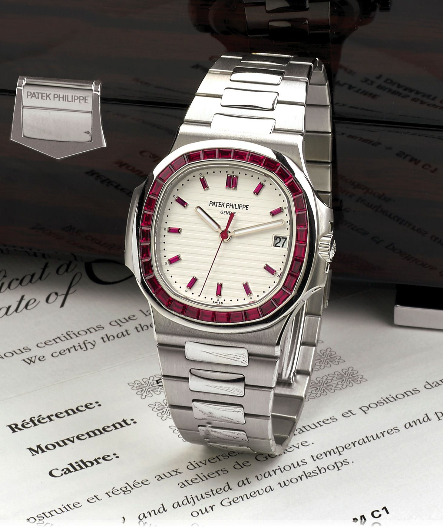 P Philippe Watch For Sale The World S Most Exclusive Patek Philippe A Ruby Set