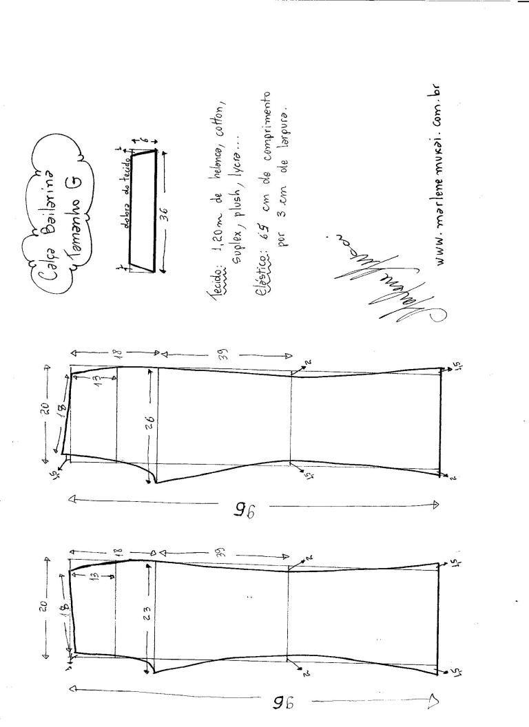 Patrón Pantalones Largos para deporte | curso | Pinterest | Costura ...