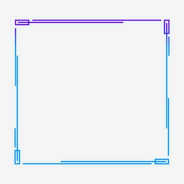 التدرج الأزرق غير النظامية الحدود إطار مربع هندسي مستطيل قصاصات فنية الإطار الحدود Png وملف Psd للتحميل مجانا Frame Clipart Clip Art Frames Borders Geometric Background