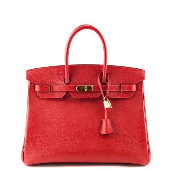 Hermes Rouge Casaque Epsom Birkin 35 LOVE that BAG