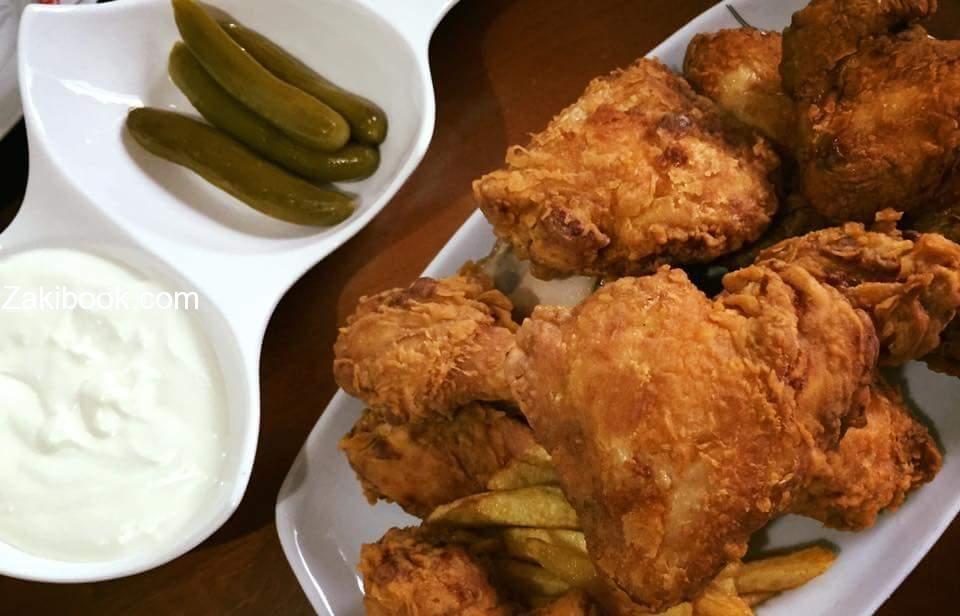 طريقة عمل بروستد الدجاج السوري المقرمش زاكي Food Arabic Food Chicken
