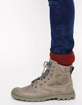 fc74ebb7681 Palladium Pampa Cuff Olive Boots | Rain boots | Palladium shoes ...