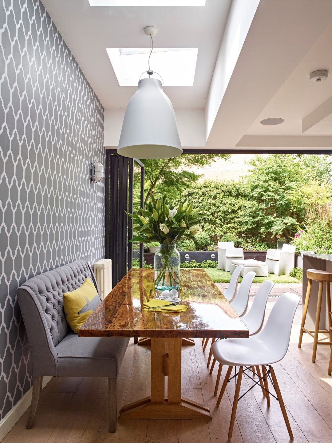 a complete west london kitchen redesign extension by holloways of