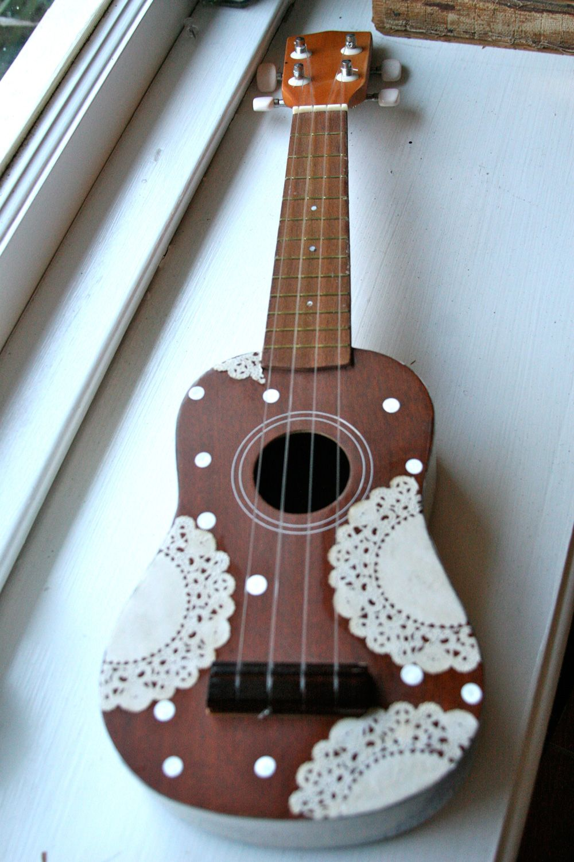 60th wedding anniversary decorations ukulele