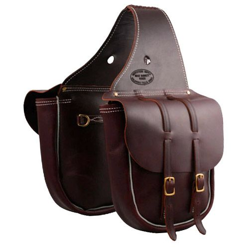 Bag Leather Saddle Bags Western