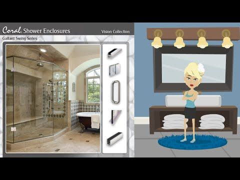 Emily Chooses Coral Industries And Showroom Partners For Her Shower Door Frameless Shower Doors Shower Doors Frameless Shower