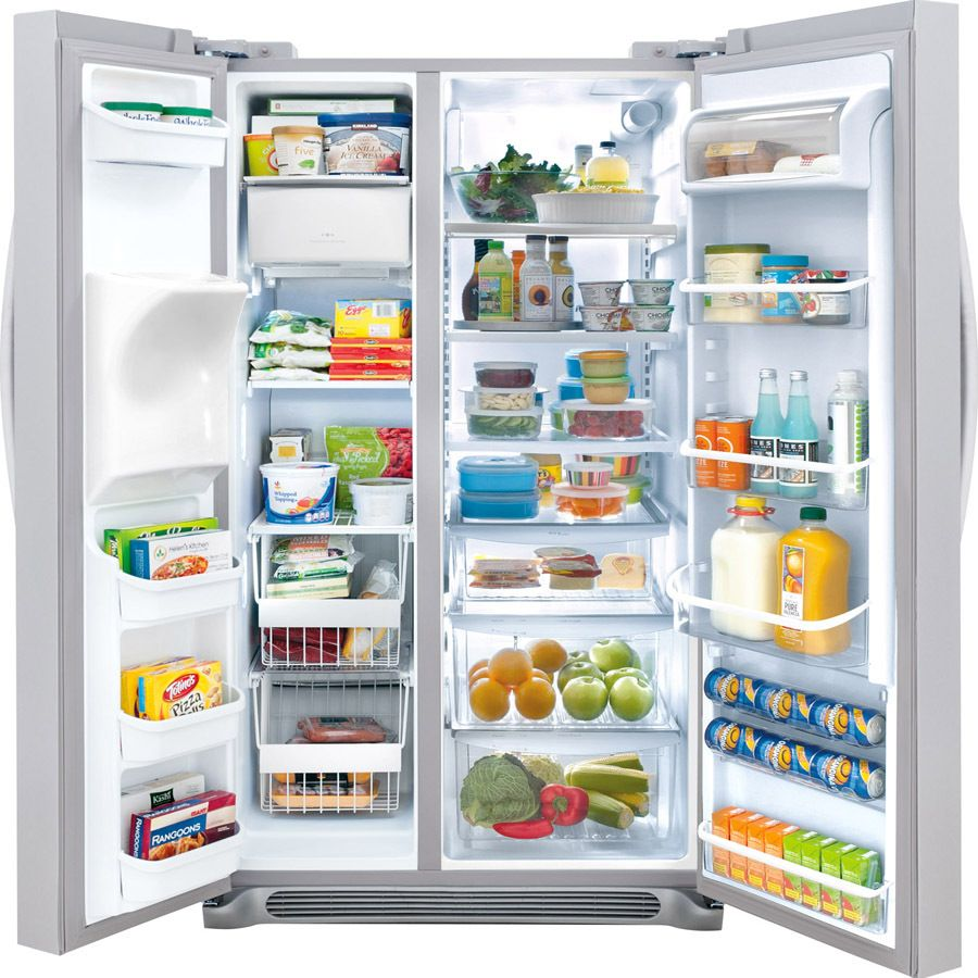 Side by side refrigerator no water dispenser - Counter Depth Side By Side Refrigerator With Adjustable Glass Shelves Spacewise Organization System External Ice Water Dispenser And Humidity Controlled