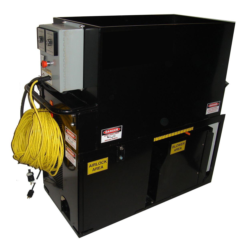 cool machines cm2400 insulation blowing machine electric truck