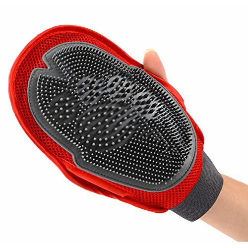 Oneisall Pet Twosided 2in1 Grooming Glove Hair Remover