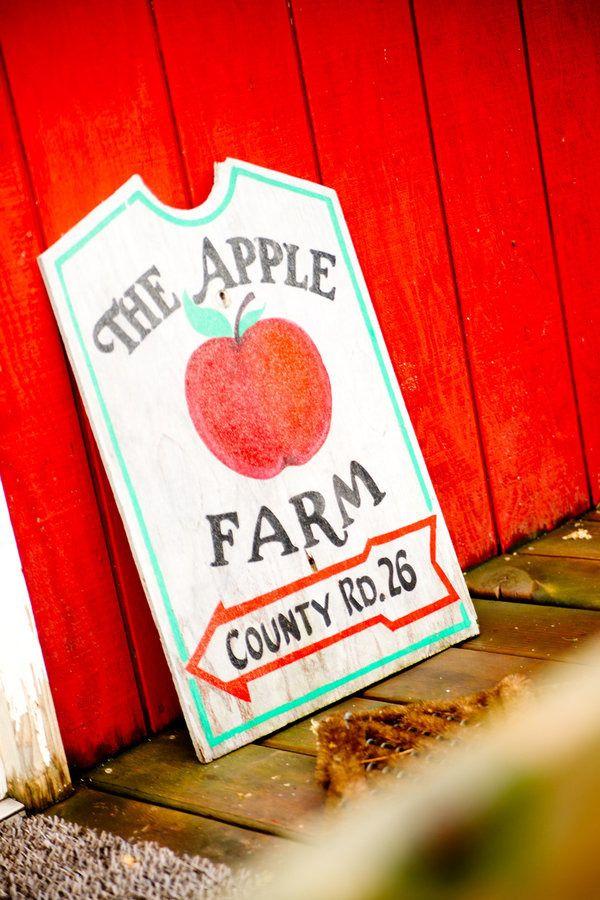 #apples  Photography: Amanda Nichole Photography - amandanicholephoto.com  Read More: http://www.stylemepretty.com/2011/10/12/minnetonka-orchards-wedding-by-amanda-nichole-photography/