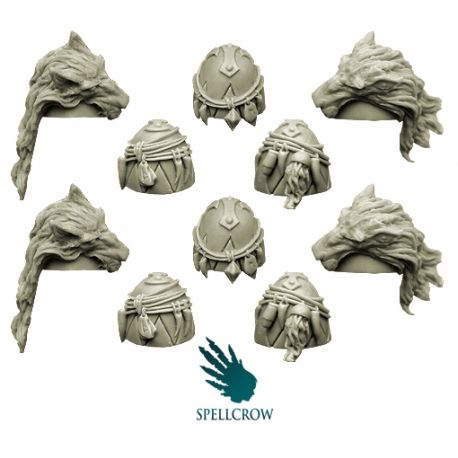 Spellcrow Wolves Knights Feral Hands
