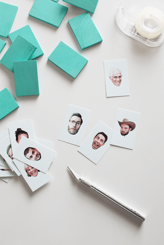 HowTo Personalized Guess Who?Inspired Board Game