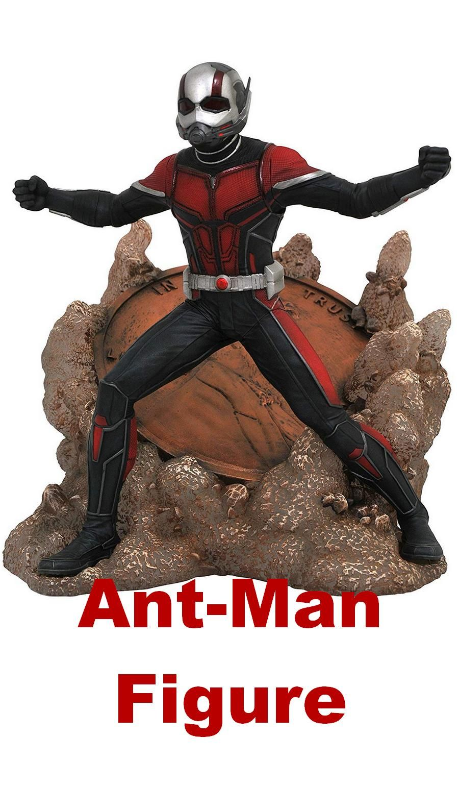 Hot Movie Comic Book Action Figure PVC Model Toy Marvel Super Hero Mini Ant Man