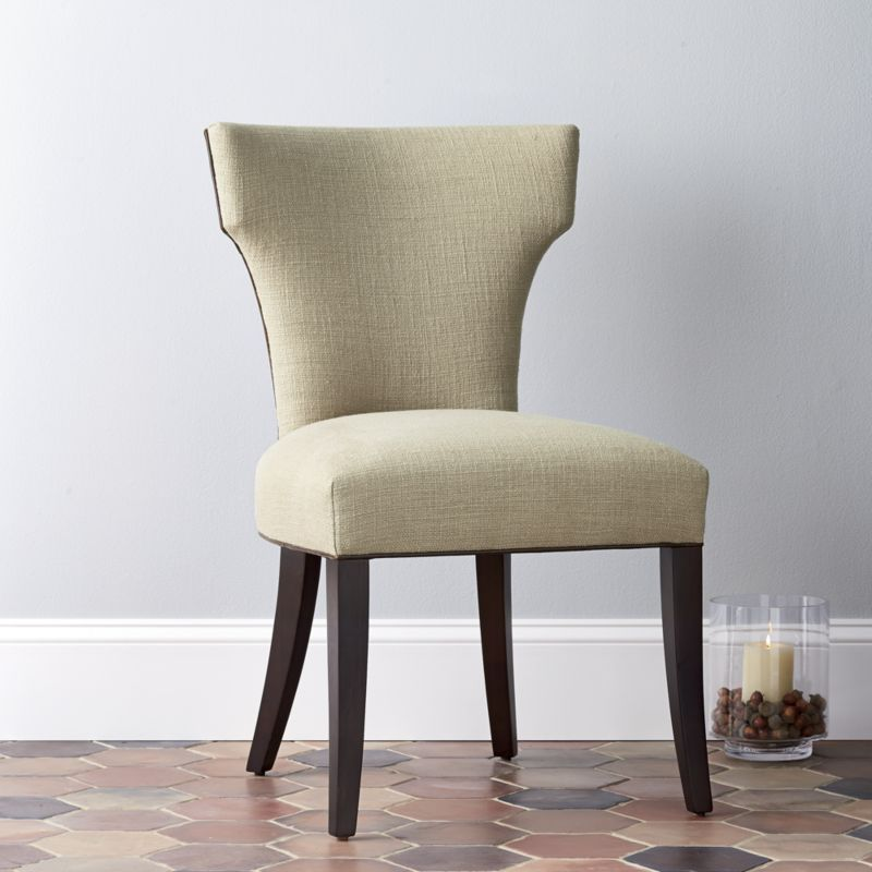 Glamour Returns To The Table In A Modern Upholstered Chair That Dresses Up  Or Down.