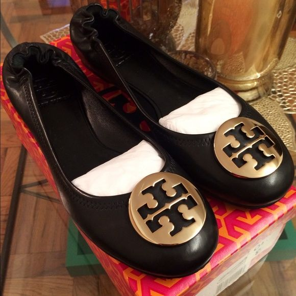 Tory Burch Reva Flats NEW IN BOX! Authentic Tory Burch