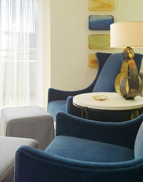 Sitting Area - modern - Living Room -