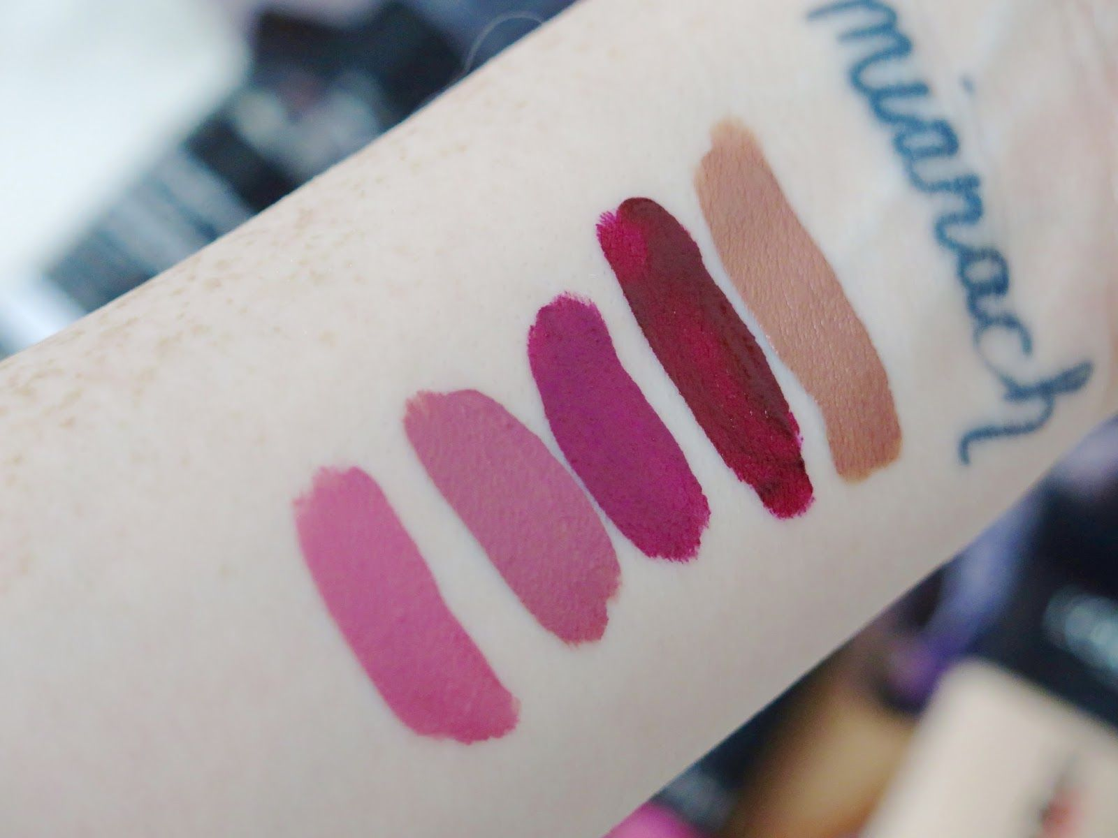 A Sephora Beauty Haul | Liquid Lipstick Swatches Top to Bottom Kat ...
