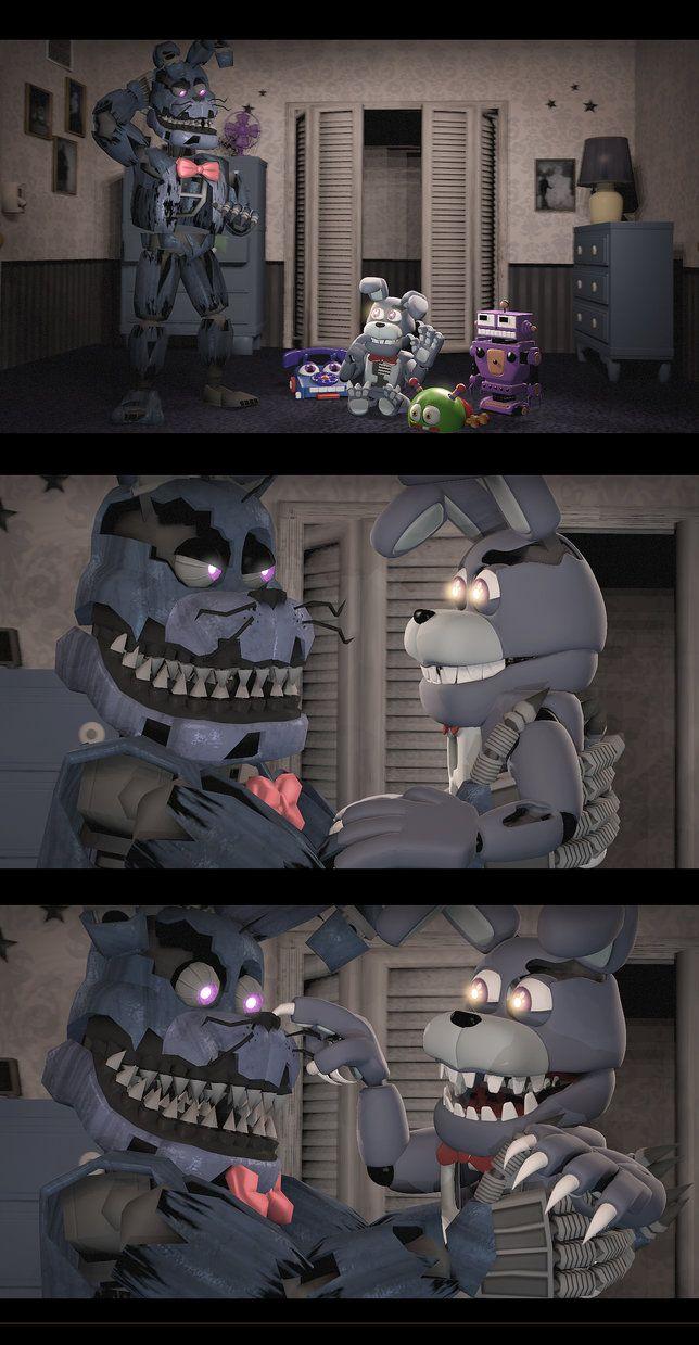Adventure nightmare Bonnie (Comic SFM) by William-Rabbit