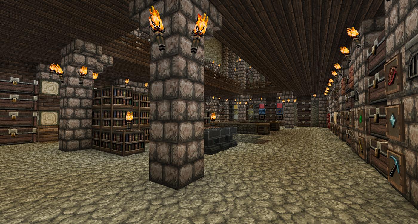 minecraft, mittelalter, stadt, bauen, buddelbude, partner ...