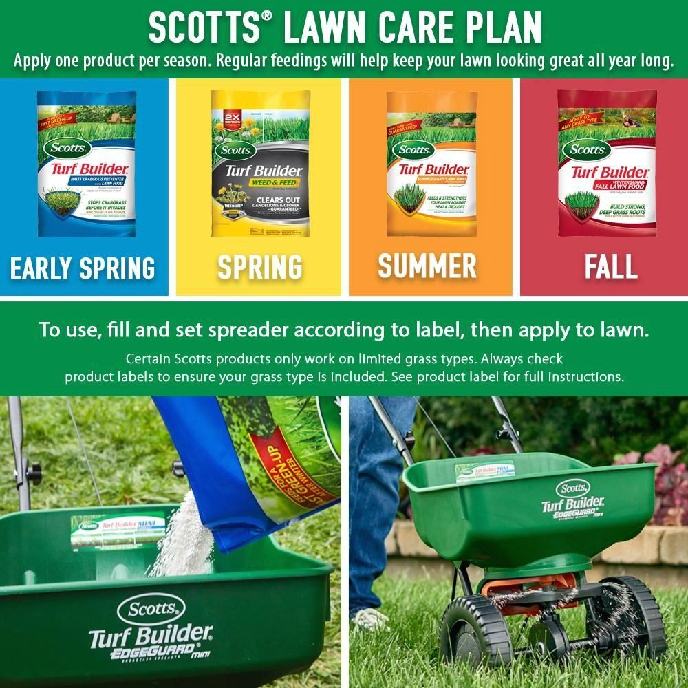 Scotts 5,000 sq. ft. Northern Lawn Fertilizer Program for