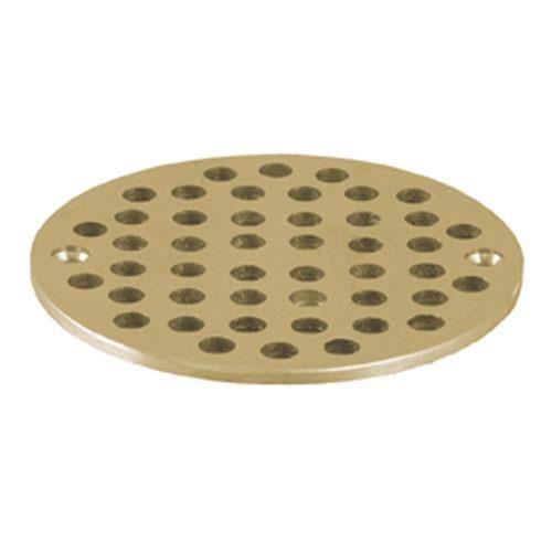 Fmp 102 1080 4 5 8 Round Brass Floor Drain Strainer Floor Drains Flooring Commercial Plumbing