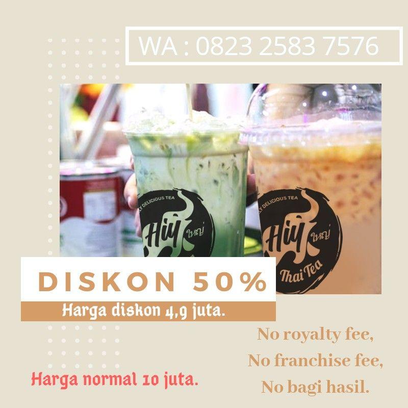 Bisnis Minuman Thai Tea Rumahan Termurah Marketing Hubungan